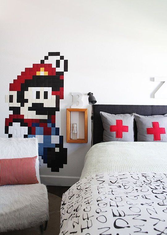 An Unexpectedly Chic Super Mario Bros Tween Room — My Room | Apartment Therapy
