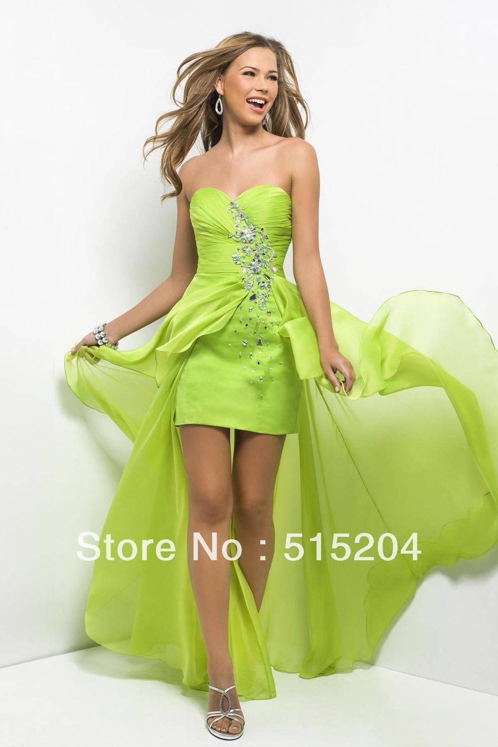 Lime Green Wedding Dress