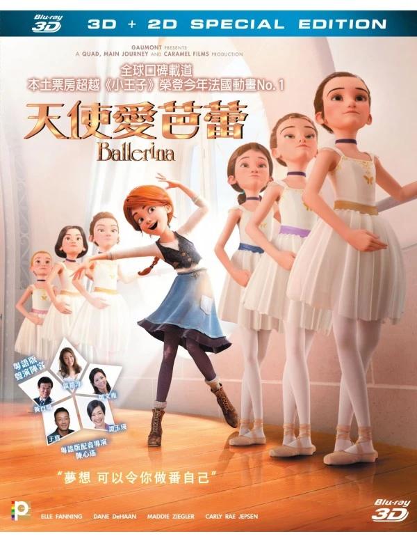 Ballerina (AKA Leap) 2016 (3D + 2D) BLURAY (Region A