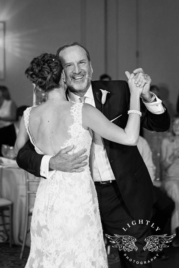 Father Daughter Dances Are Such Sweet Moments Wedding Reception At The Omni Hotel In Fort
