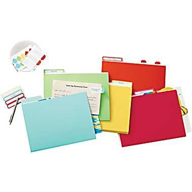 Martha Stewart Home Office™ with Avery™ File Folder Labels