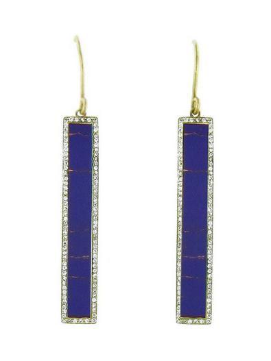 Jennifer Meyer, $7,500, lapis and diamond