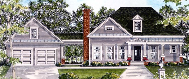 Photo of Country House Plan 6082-00080
