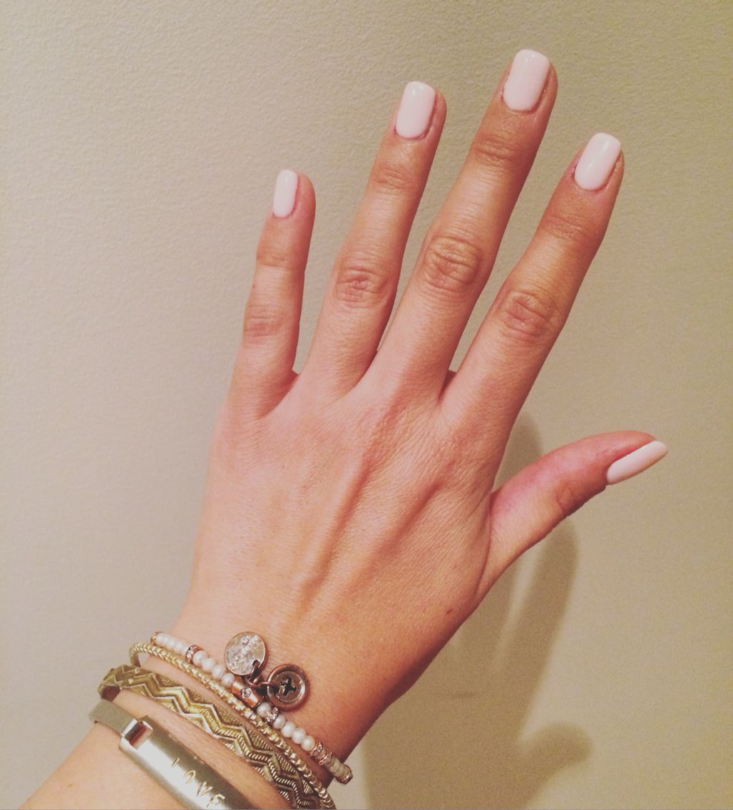 light pink shellac nails #shellac #pink #babypink #lightpink