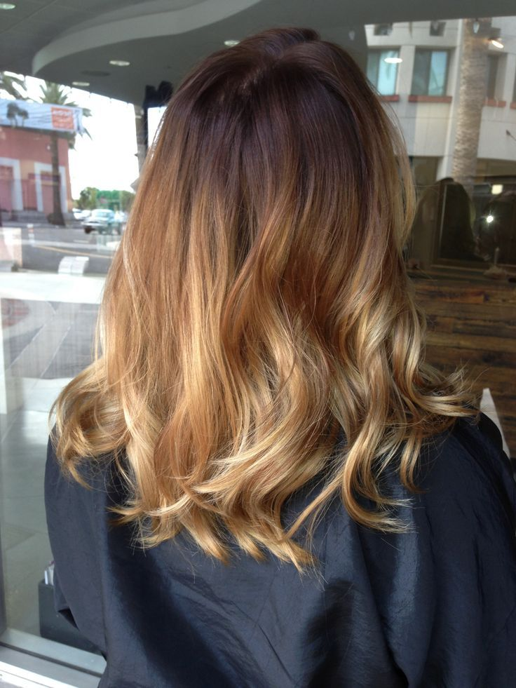 Balayage Ombré On Shoulder Length Hair Ombré By Briza Hair And