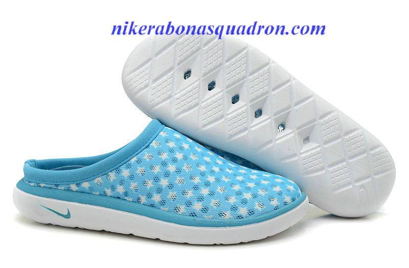 timeless design d5c7a ed917 Nike Air Rejuven 8 Mule 3 Chlorine Blue White Sandals 441377 100