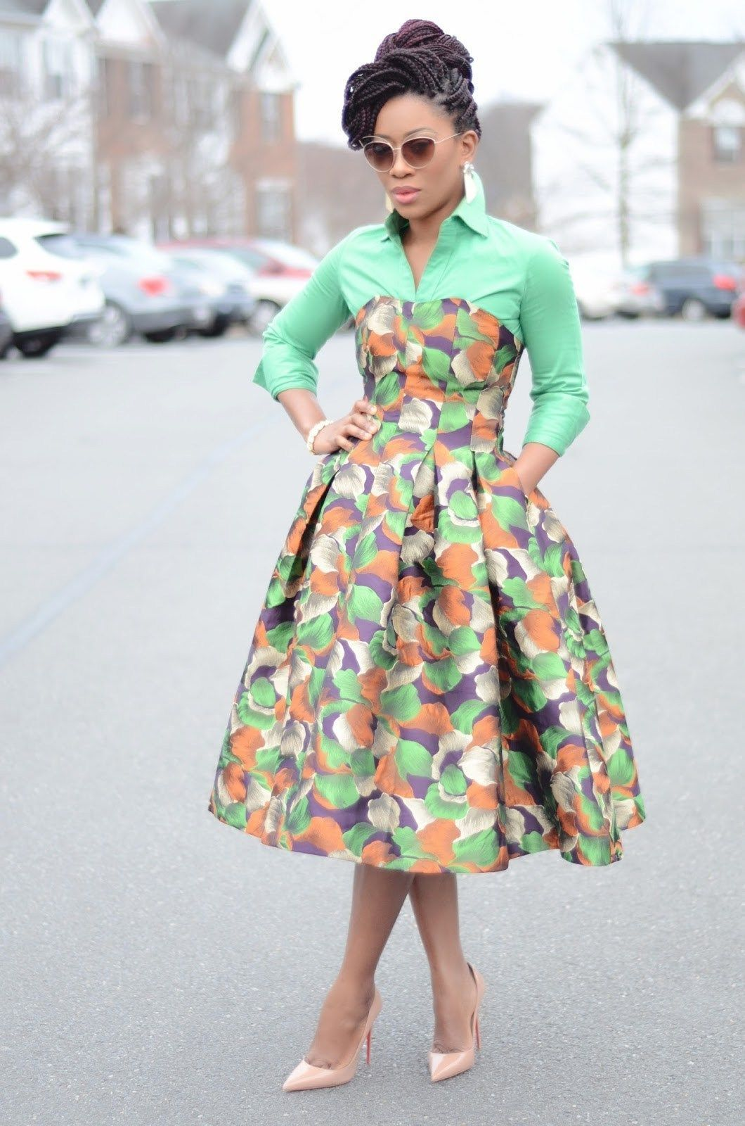 25 Fashion Fabulous African Style Outfits for Work #africanstyleclothing 25 Fashion Fabulous African Style Outfits for Work - African Vibes Magazine #afrikanischerdruck