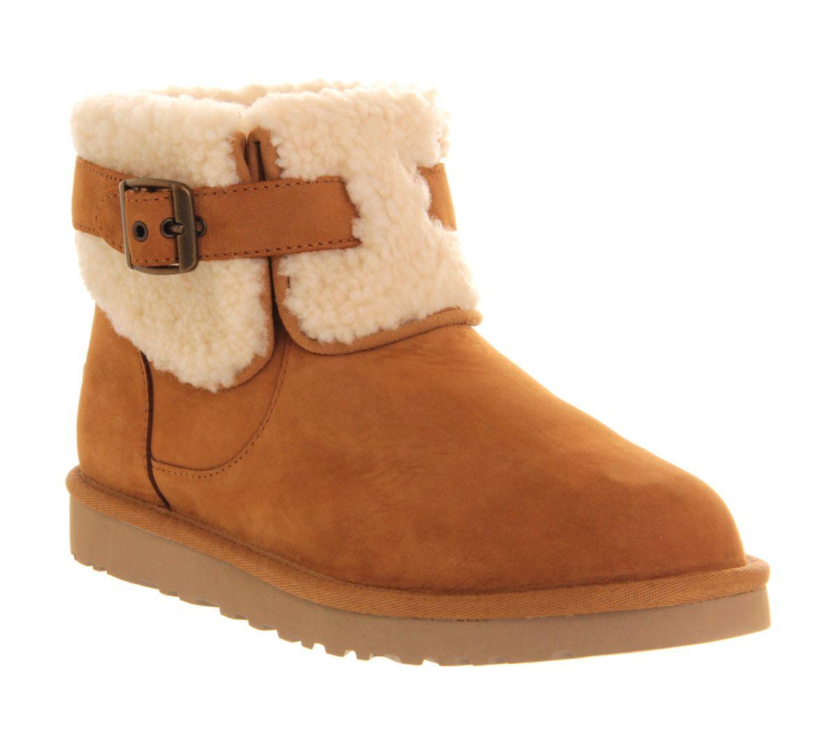 3890f79bc4e UGG Australia Jocelin Shearling Buckle Boot Chestnut - Ankle Boots ...