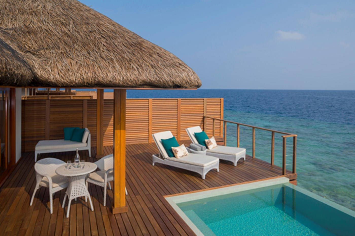 Dusit Thani Maldives Water Villa With Pool Water Villa