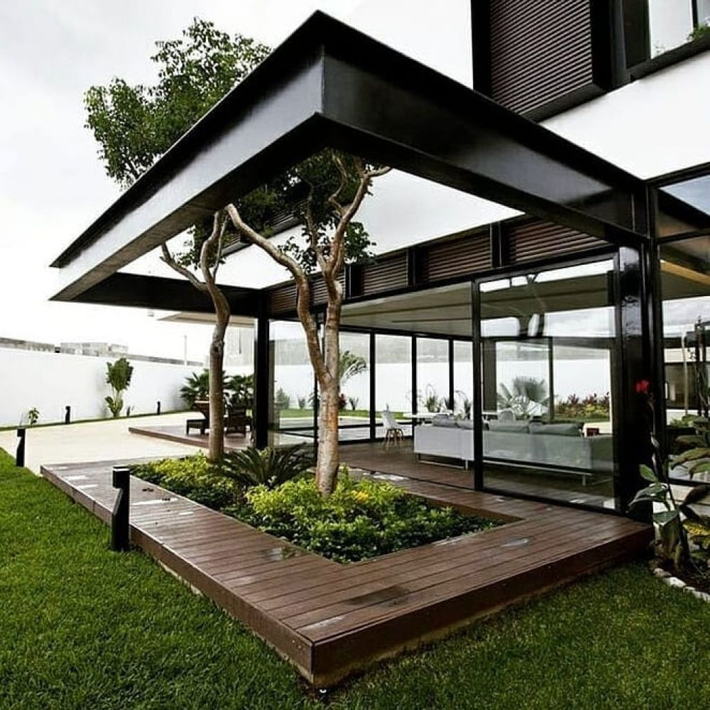 36 Attractive Contemporary Flat Roof Design Ideas For Your