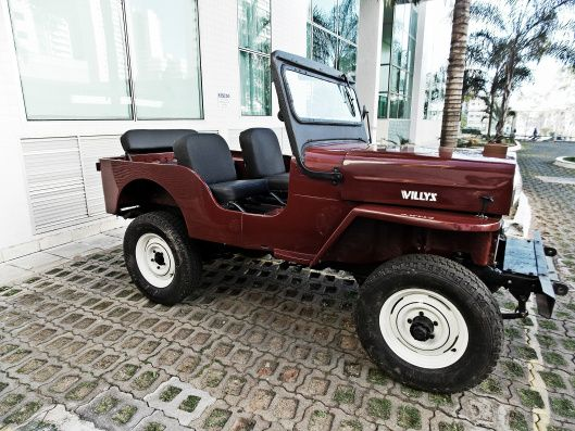 Jeep Willys Cj3b 1954 Cara De Cavalo Jeep Willys Carros Jeep