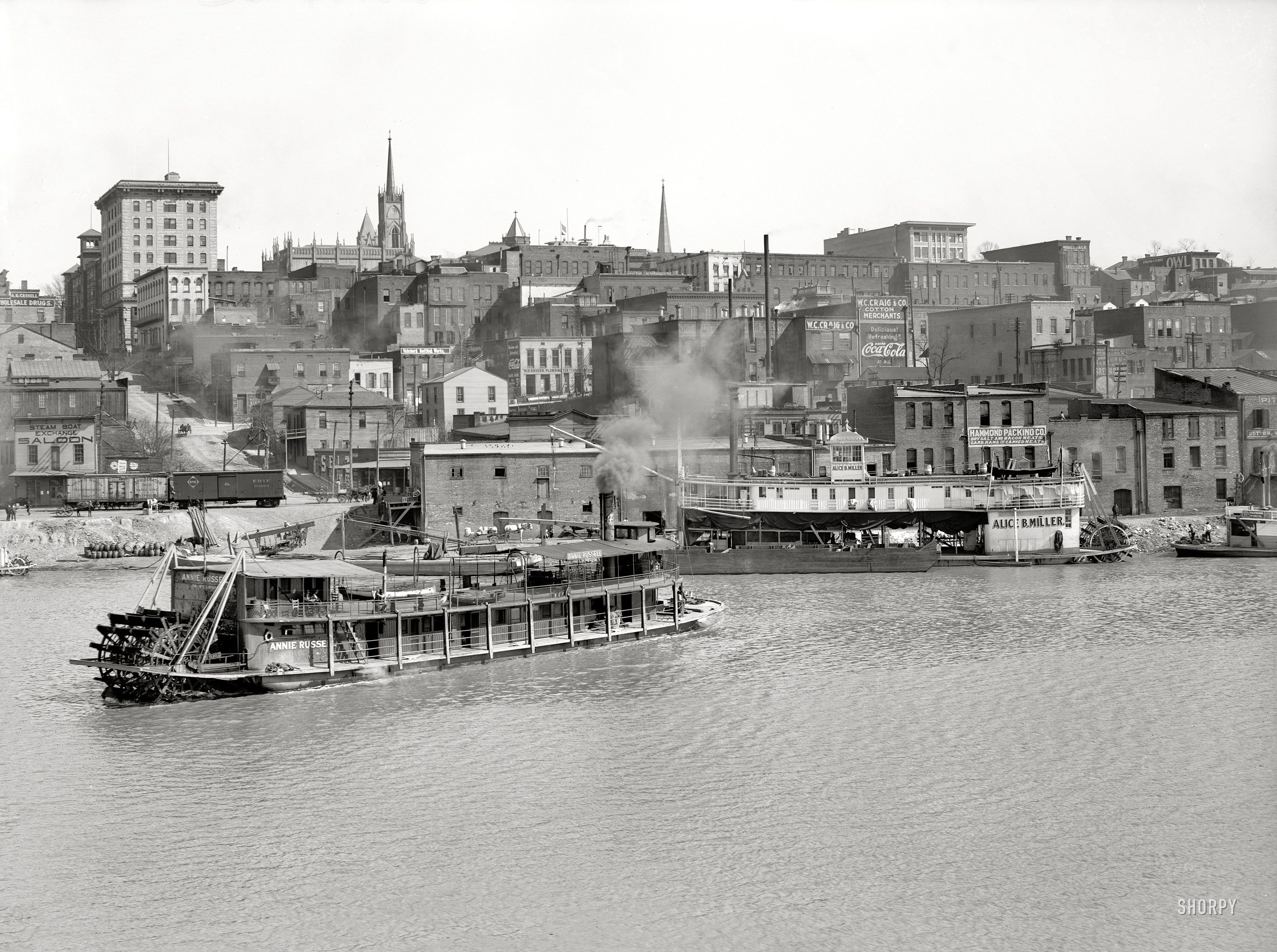 The Mississippi River Circa 1904 Quot Vicksburg Waterfront