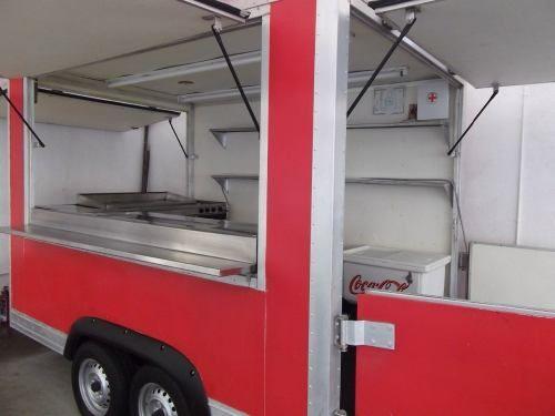 Remolque Y Trailer Para Comidas Todo Tipo Nuevo Segunda 11 000 000 Camión De Comida Comida Remolques