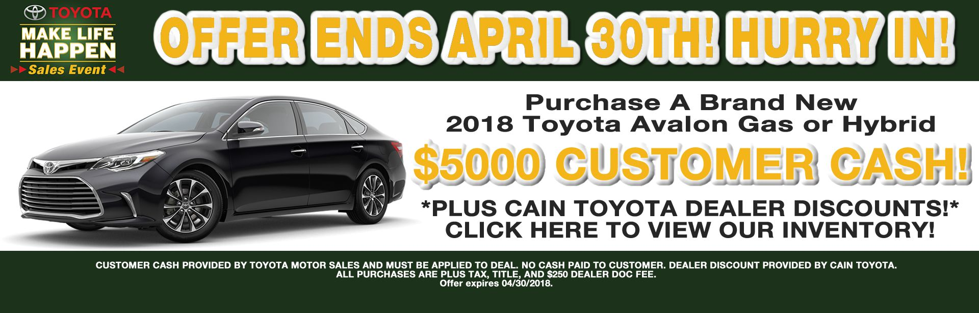 Toyota Dealer In North Canton, OH | Cain Toyota