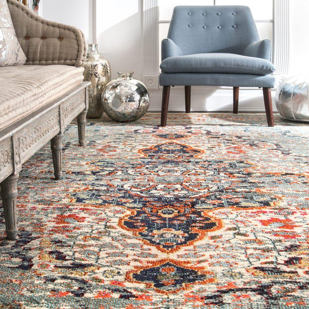 Distressed persian sarita rug area rugs rugs grey area rug