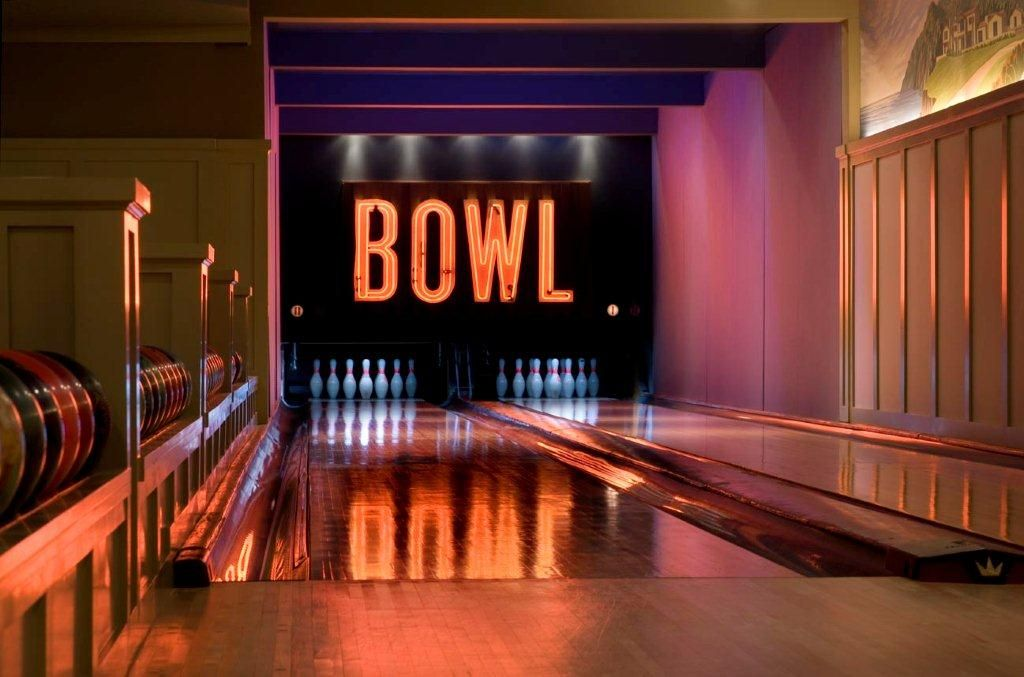 bowling center masking units