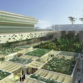 Kuwait Al-Rai masterplan by OMA | Green architecture, Roof ...
