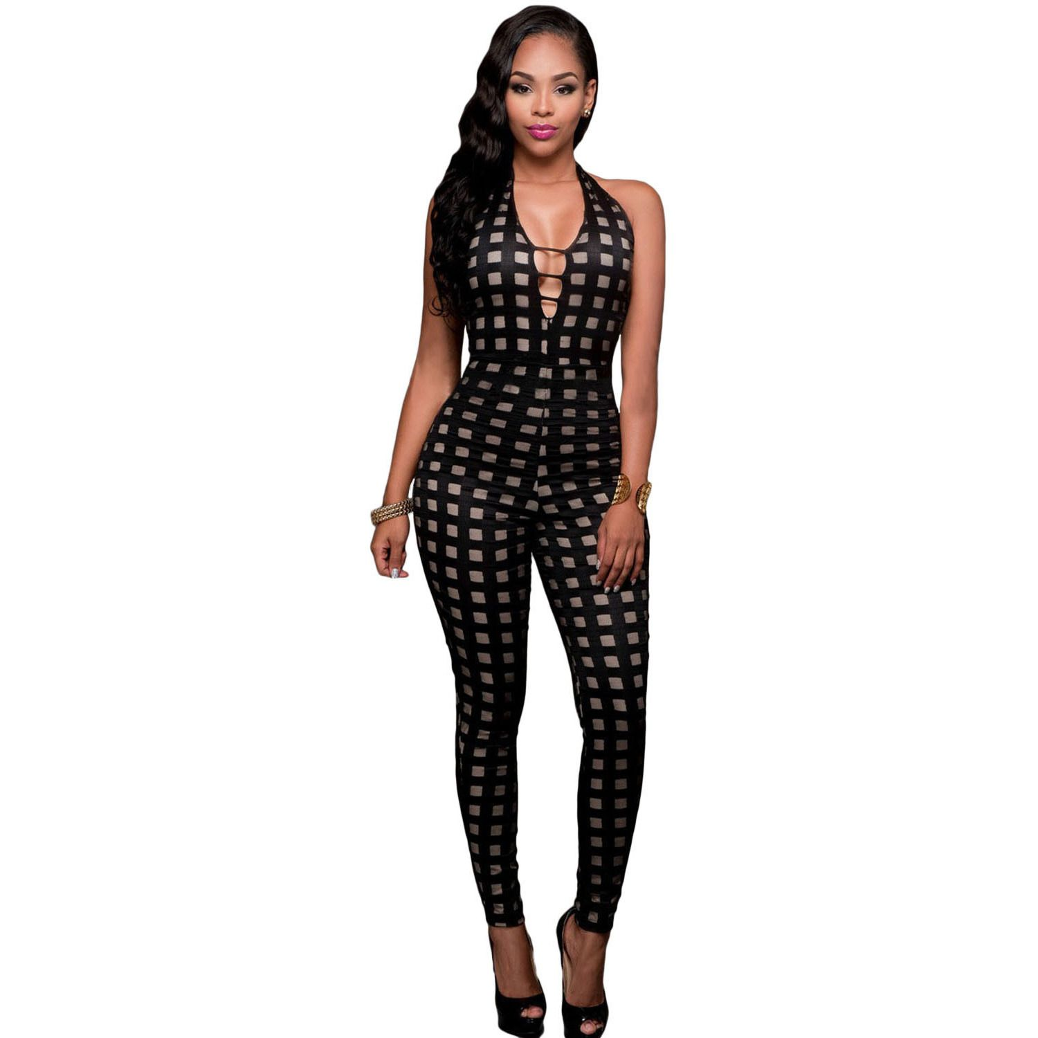 New Rompers Backless Women Jumpsuits 2016 Fashion Summer
