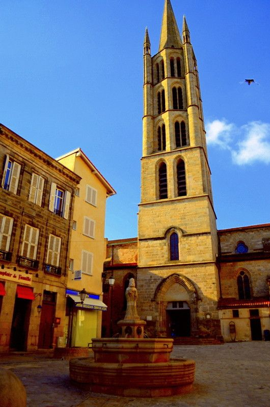 Place De La Motte Limousin France Photos France Europe