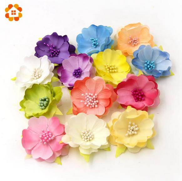 5pcs diy silk flower decoration artificial crafts handmade wedding 5pcs diy silk flower decoration artificial crafts handmade mightylinksfo