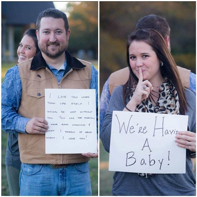 Funny and Creative Pregnancy Announcements