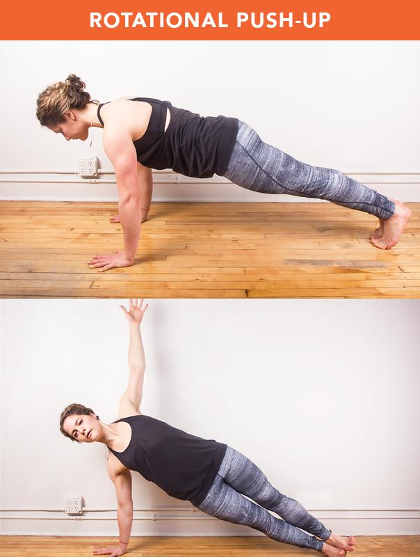 Corkscrew push-up, come si fa e quali muscoli allena   IlFitness