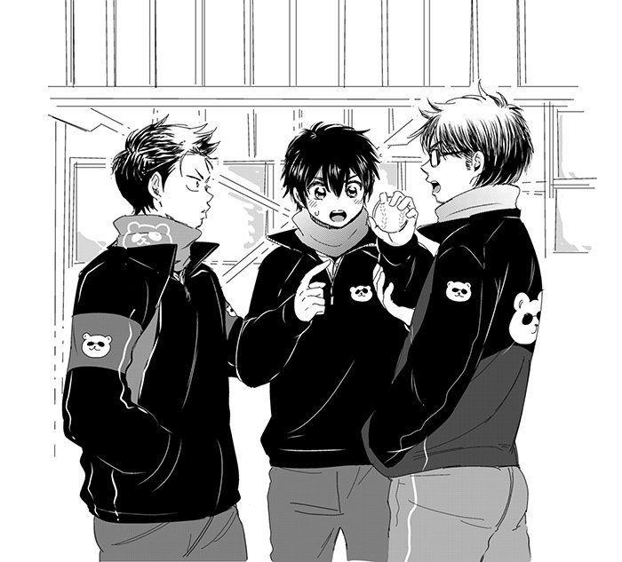 Diamond No Ace Kuramochi: Diamond No Ace - Kuramochi, Sawamura & Miyuki