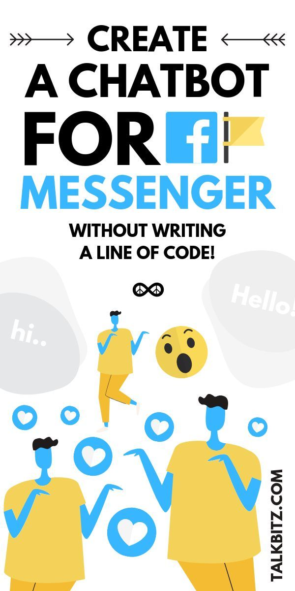 Create a Chatbot for Facebook Messenger (No Coding Required is part of Chatbot, Online business marketing, Online marketing strategies, Facebook marketing, Amazon marketing, Visual marketing - Creating a chatbot for facebook messenger is a smart idea nowadays  Learn how to create a free chatbot for your business efficiently