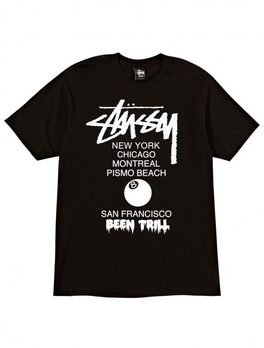 Been Trill World Tour T-Shirts  stussy  been  trill  a13748a726f