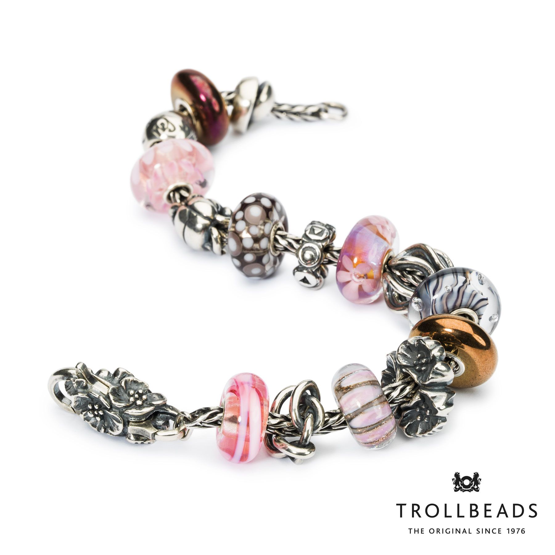 Bracelet by Trollbeads - 2015 Spring Collection.