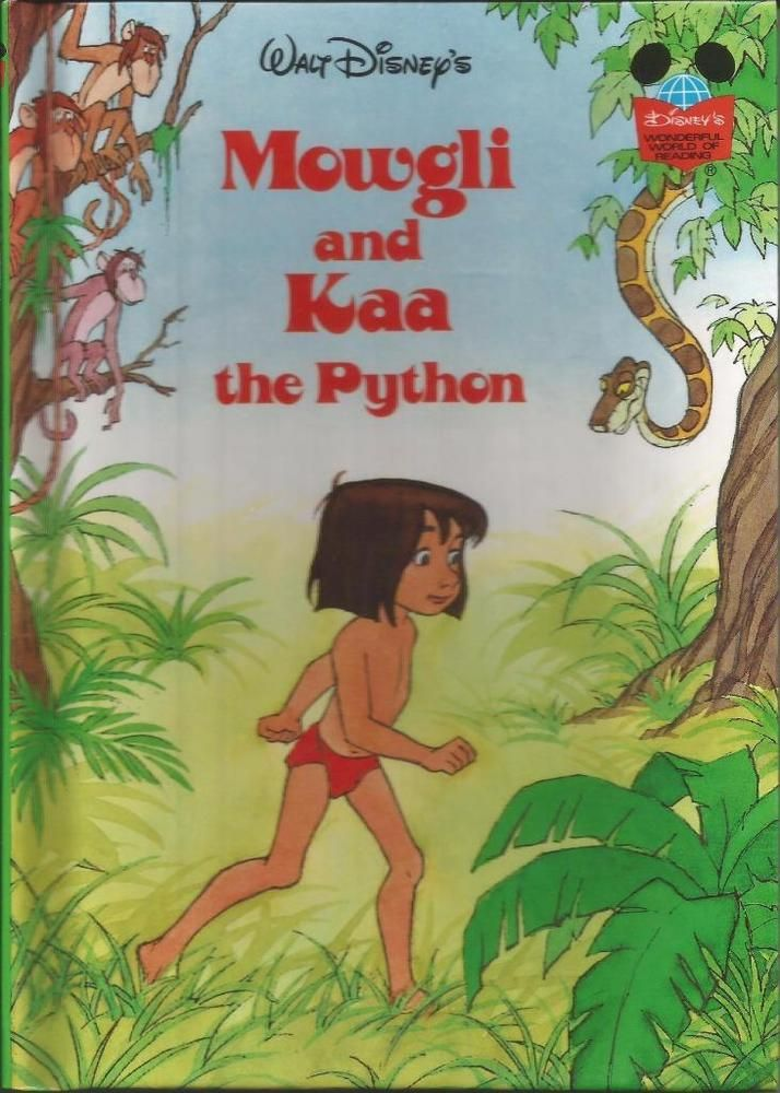 Disney Mowgli And Kaa The Python Hardcover Shand Childrens