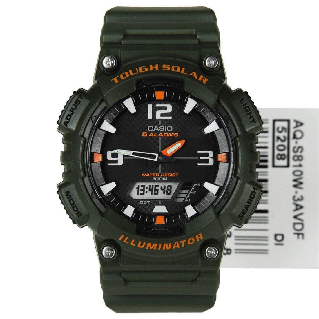 Casio Tough Solar Sports Watch AQS810W3AV AQS810W