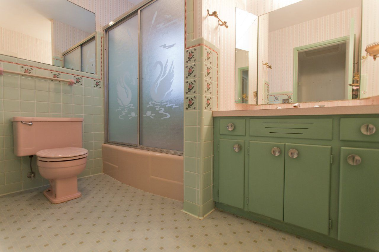Retro Vintage 1950s Bathroom Amazing Bathrooms Bathroom Tile
