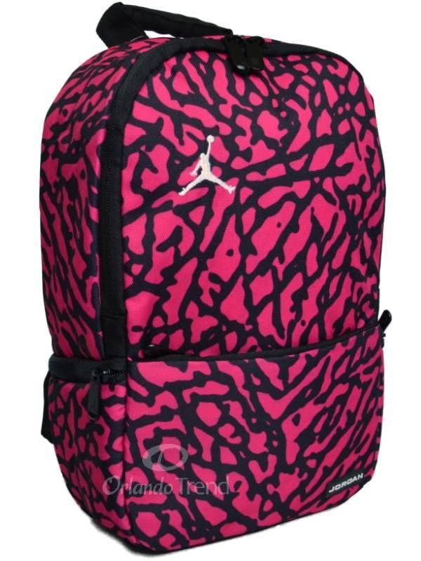 7b05465cc9100e Nike Air Jordan Backpack Toddler Preschool Girl Black Pink Mini Small Bag   NikeAirJordan  Nike  Pink  OrlandoTrend  Backpack  Jordan