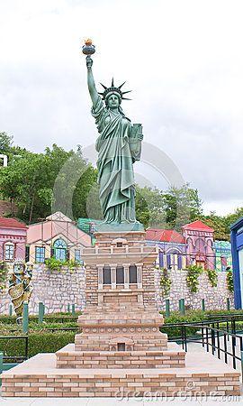 A Scaled Down Replica Of Statue Of Liberty In Ramoji Film City