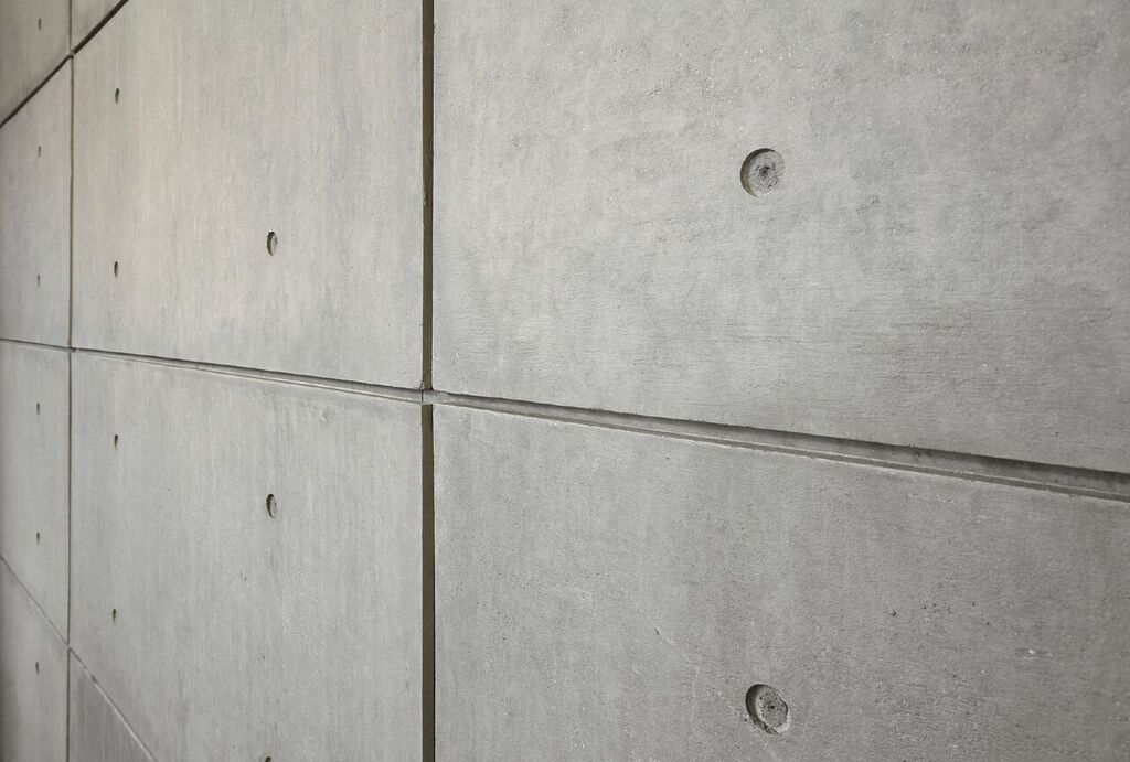 Hour Wall Urbanconcrete Washed Grey Grey Gray Exposed Panels Feature Accent Wall Character Glue Nail Concrete Wall Panels Concrete Wall Wall Systems