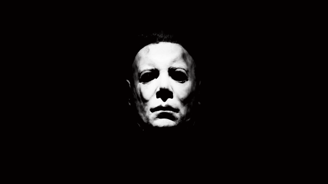Halloween 1978 Horror Movie Review Michael Myers Black White Halloween Michael Myers Face