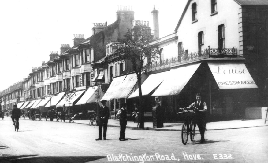 Blatchington Road Hove, History of Blatchington Road Hove, Hove in the Past by Judy Middleton,