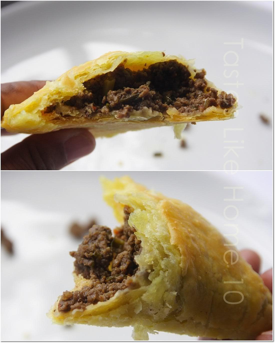 love at first bite  jamaican beef patties  jamaican