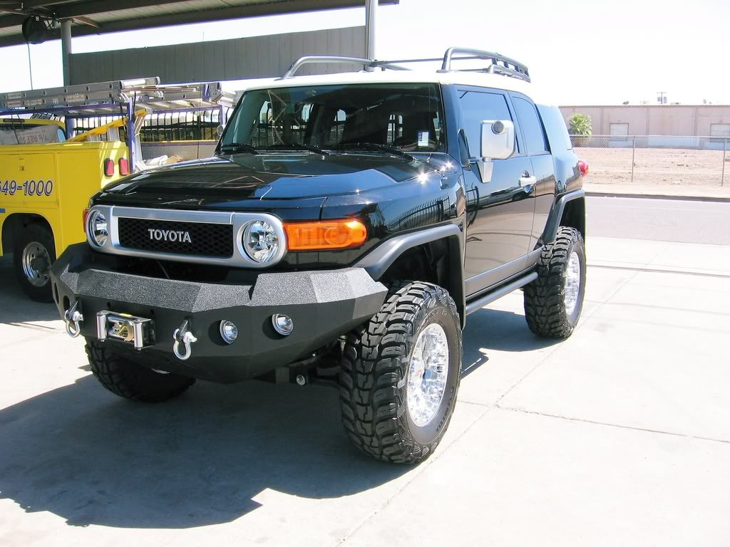 Image detail for -winch bumper - FJ Cruiser Owners com Forum