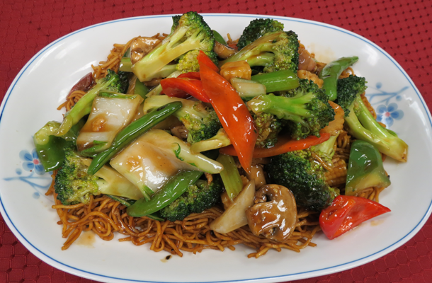Take Out In Kamloops Moon Wok Chinese Restaurant Food Eating Vegetables Chinese Restaurant