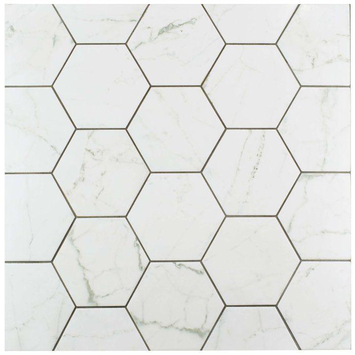Karra 7 X 8 Porcelain Stone Look Wall Floor Tile Porcelain