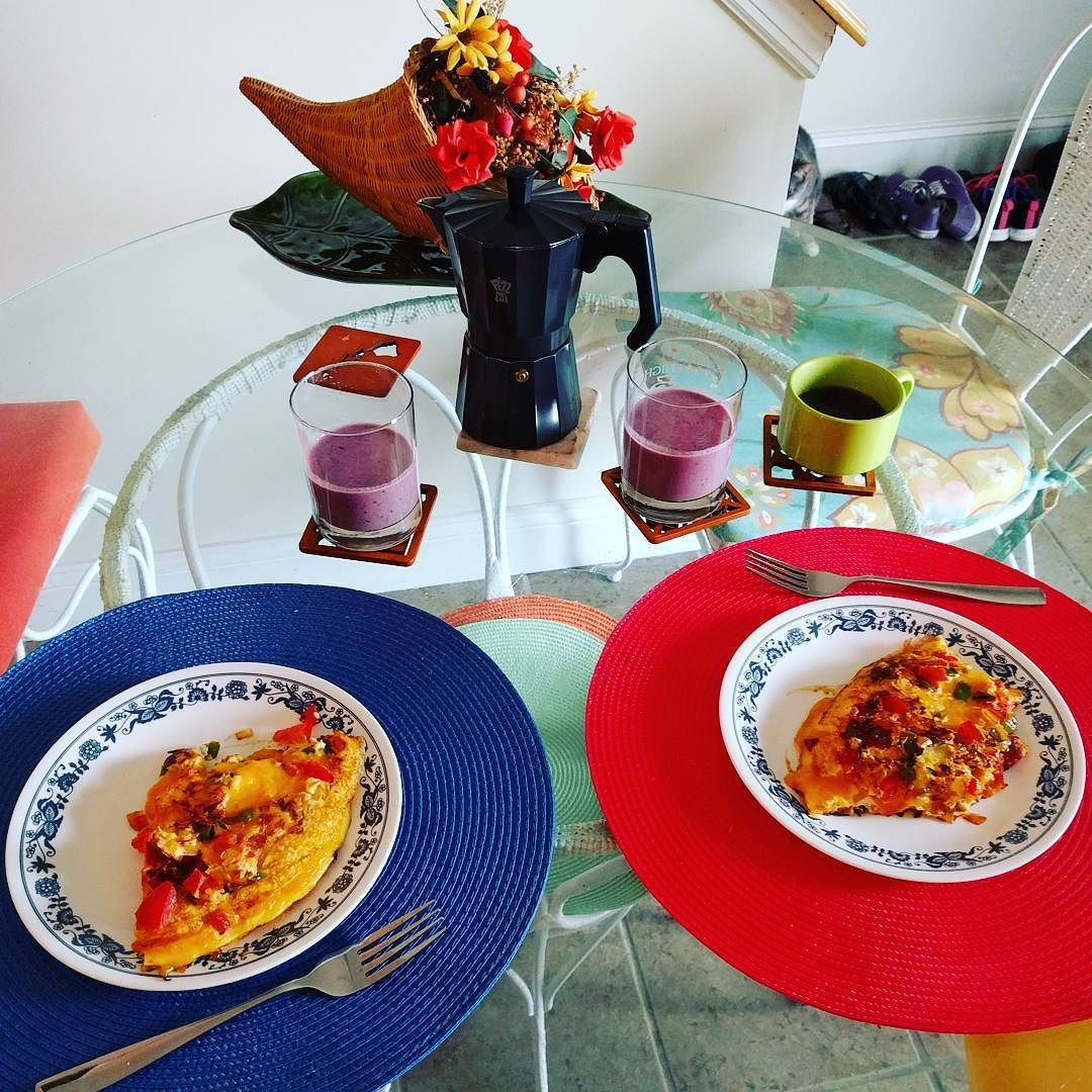 #breakfast #wemadeittogether #ignoretheshoes