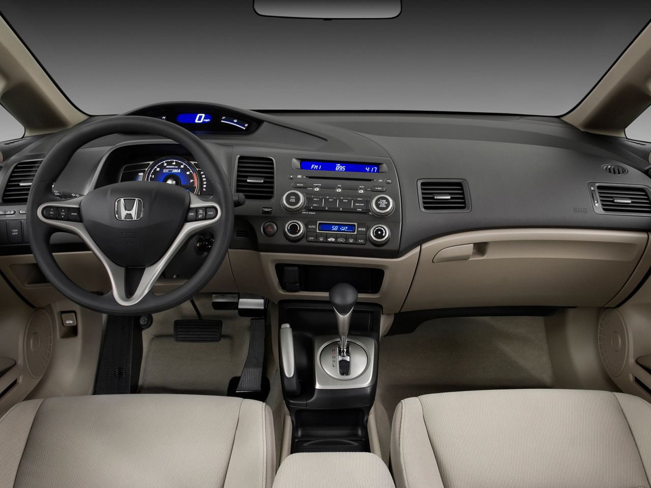 Honda Civic Hybrid Cvt Automatic Pzev