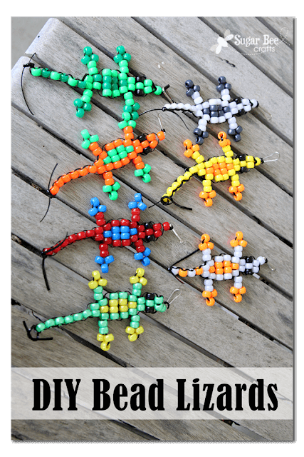 Super Simple Pony Bead Crafts for Kids #animalcraftsforkids