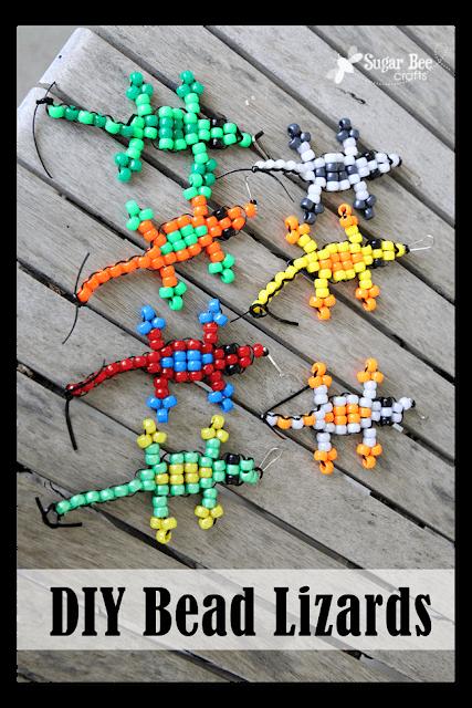Super Simple Pony Bead Crafts for Kids #animalcraftsforkids