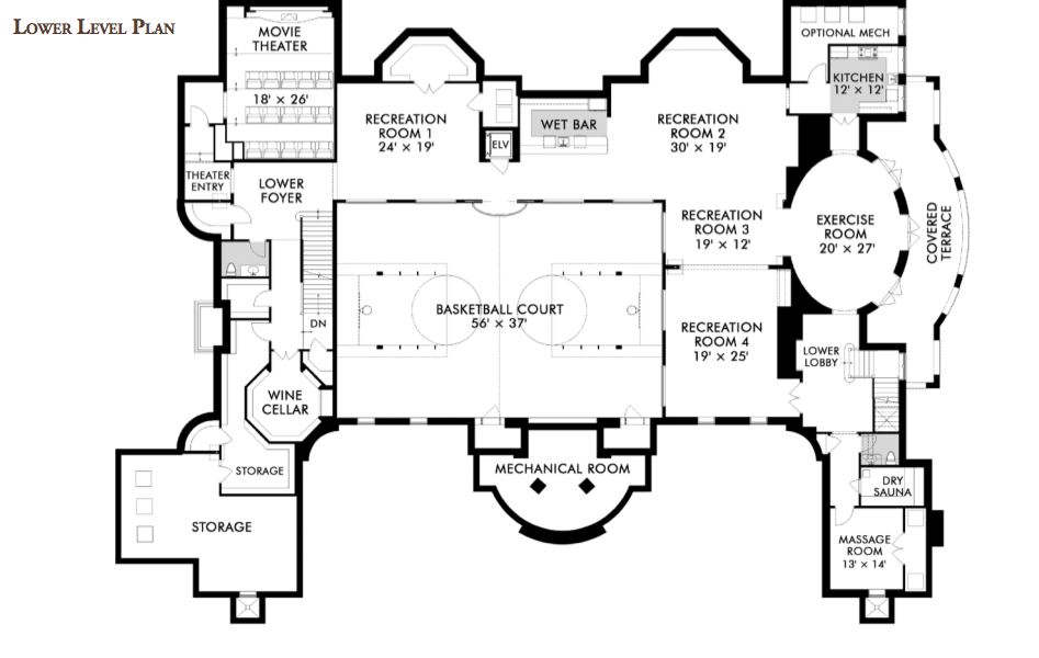 Floorplans 171 Homes Of The Rich The Web S 1 Luxury Real