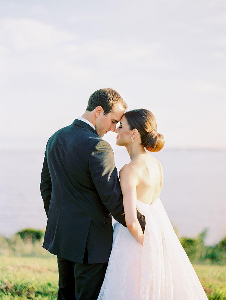 Elegant Annapolis Wedding with Romantic Greenery | Chicago ...