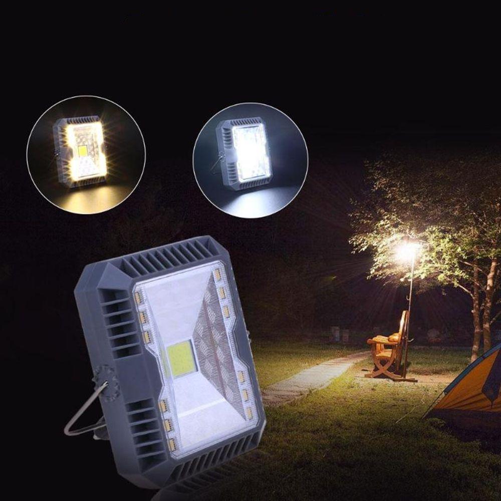 Us 9 26 37 Waterproof Solar Flood Light Spotlight 3 Modes Usb Rechargeable Cob Work Camping Emergency Light Outdoor Lighting From Lights Lighting On Banggood