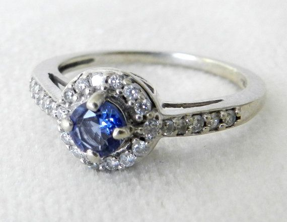 Hey, I found this really awesome Etsy listing at https://www.etsy.com/listing/209709008/sapphire-engagement-ring-diamond-halo